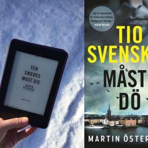 Thriller set in Sweden, Russia – Ten Swedes must Die, Martin Österdahl