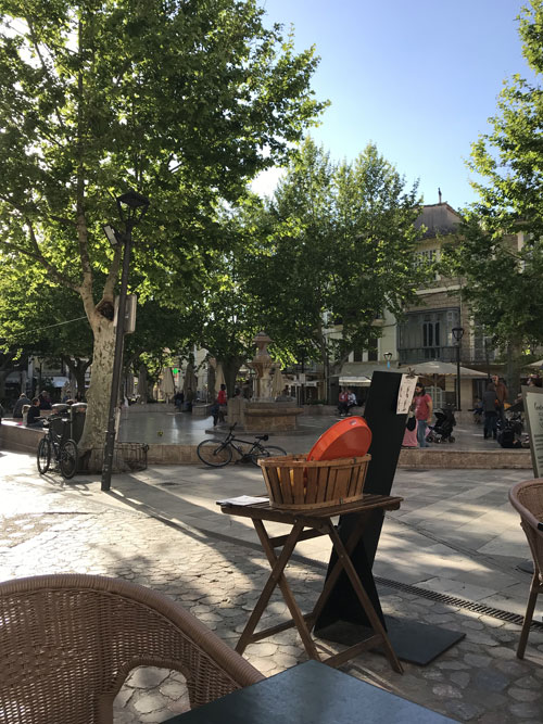 The Square in Soller (c) Fanny Blake