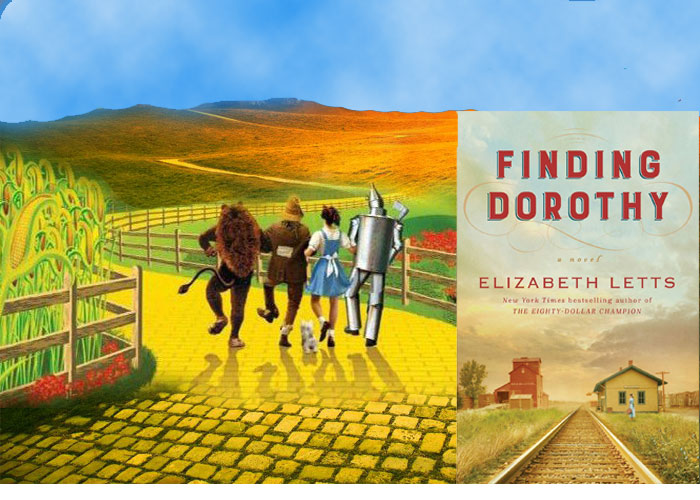 Book set in Hollywood - Finding Dorothy by Elizabeth Betts