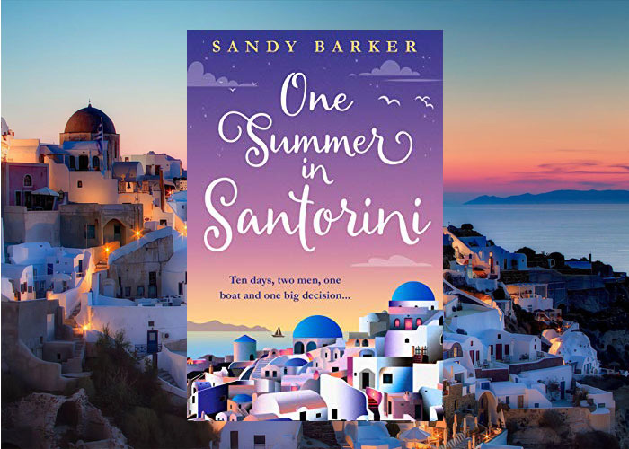 Bookreview - One Summer in Santorini by Sandy Barker