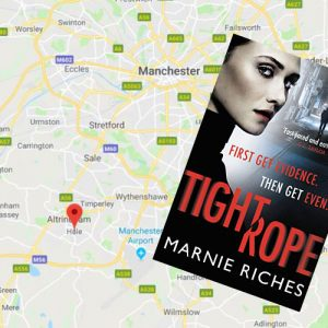 Walking a Tightrope near Manchester with Marnie Riches