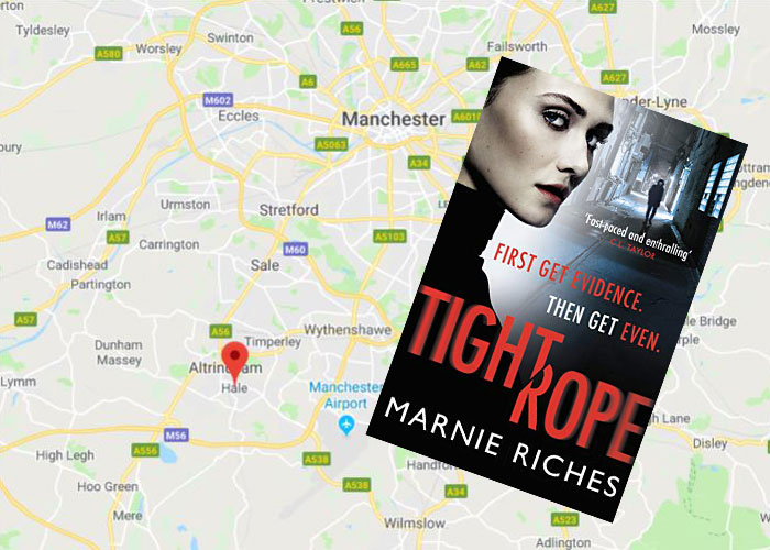 Tightrope set in Hale and Altrincham