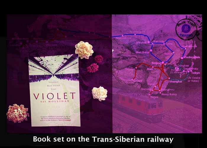 Thriller set on the Trans-Siberian Express - Violet by SJI Holliday