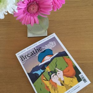 Interview with The BookTrail in Breathe Magazine