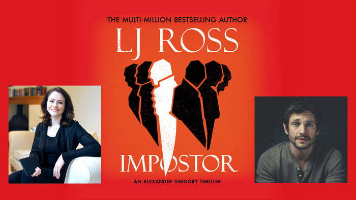 Impostor Blog tour L J Ross and competition!