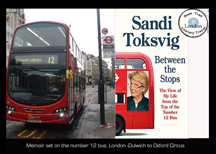 Between the Stops on a London bus with Sandi Toksvig