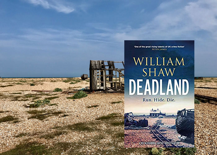Travel to Deadland and Dungeness with William Shaw