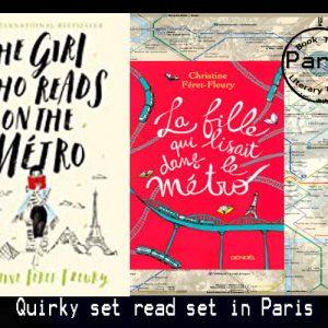 The Girl Who Reads on the (Paris) Metro – Christine Féret-Fleury