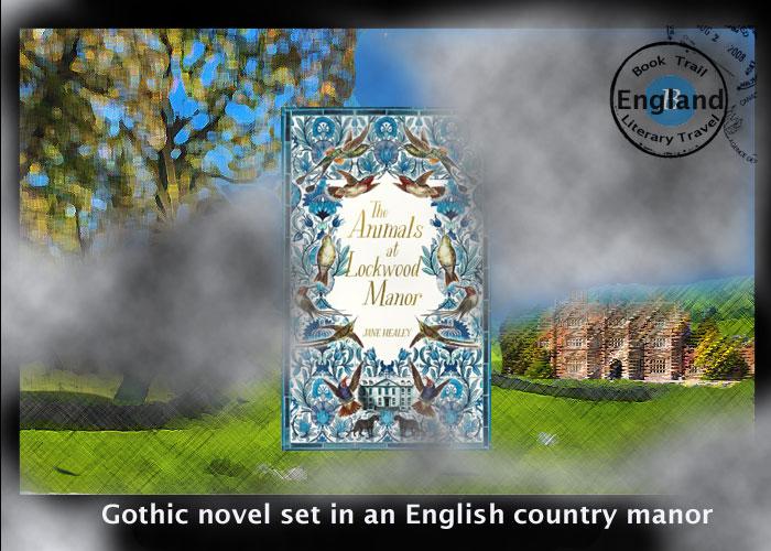 Gothic novel set in a manor house - LockWood Manor - Jane Healey