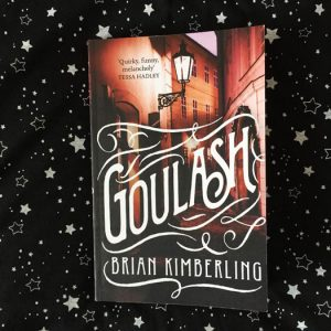 Book set in Prague – Ghoulash by Brian Kimberling
