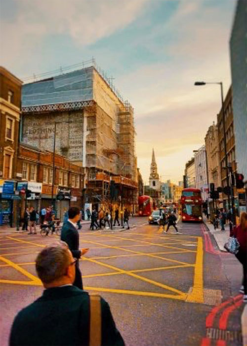 Travel to London with Danny Bird and Derek Farrell
