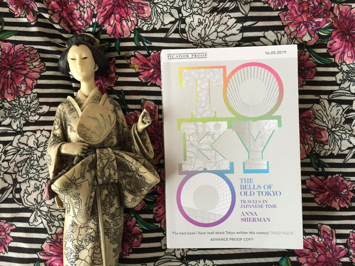 Book set in Tokyo - The Bells of Old Tokyo by Anna Sherman