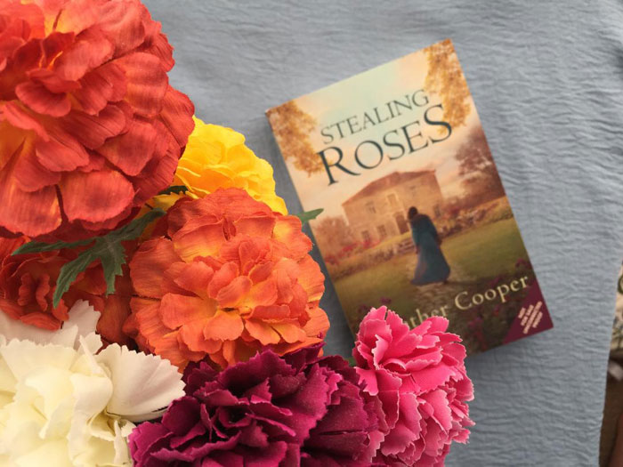 Novel set in Cowes, Isle of Wight - Stealing Roses by Heather Cooper