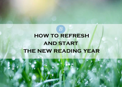 Refresh your reading - A New Year of books