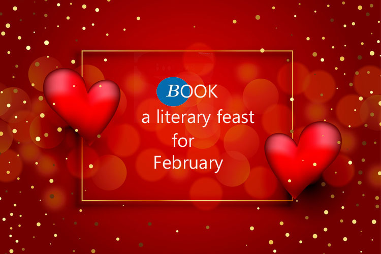BookTrail Travels with books in February