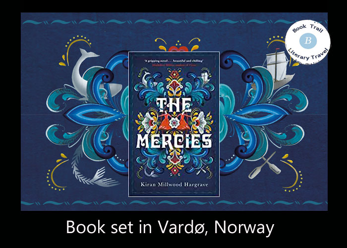 Book set on Vardø - The Mercies by Kiran Millwood Hargrave
