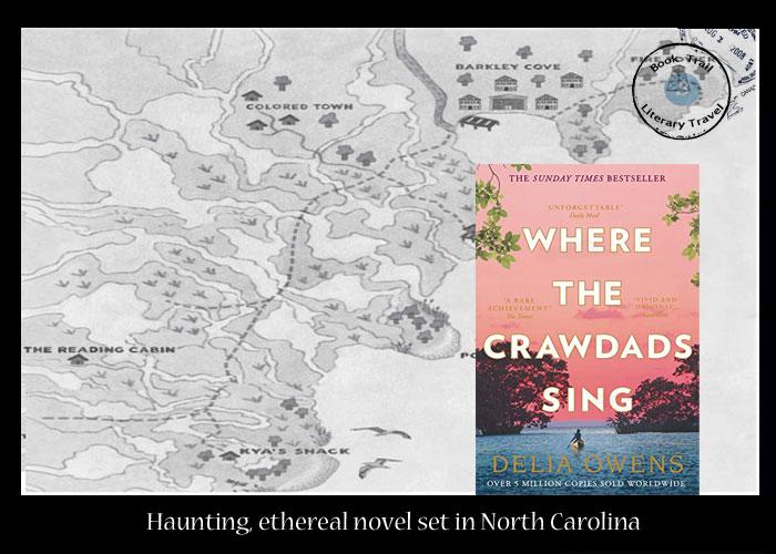 Where the Crawdads Sing set in North Carolina by Delia Owens
