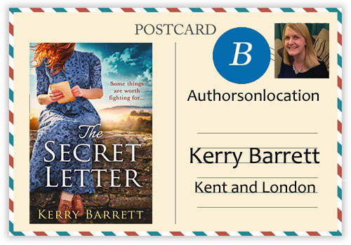 Travel to London and The Secret Letter with Kerry Barrett