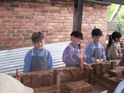 Brick making sessions