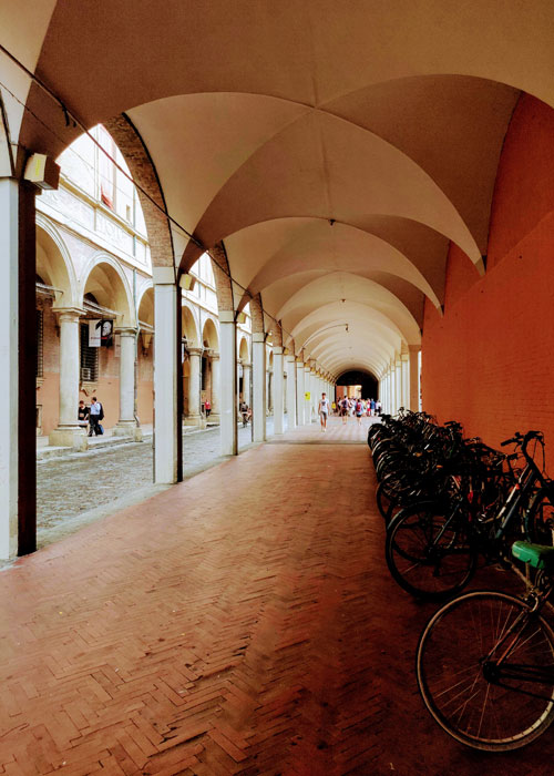Travel to Bologna with Tom Benjamin