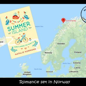 Romantic novel set in Norway by Natalie Normann