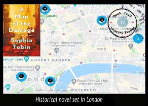 Explore London with Sophia Tobin's Map of the Damage