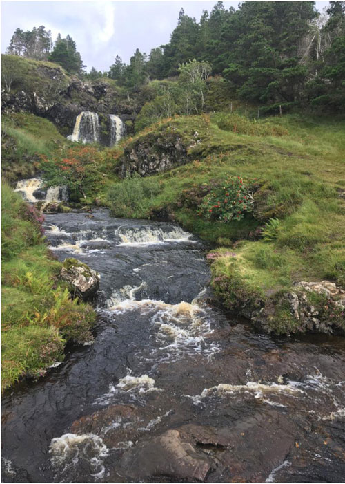 Skye's fairy pool path (c) Kiley Dunbar