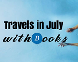 Travels in July with books