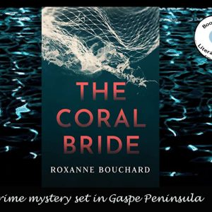 The Coral Bride set in Gaspe Peninsula by Roxanne Bouchard
