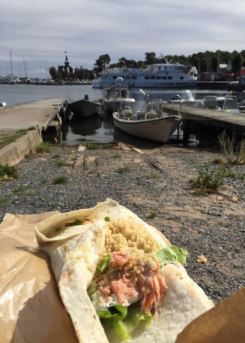 Lunch on sandhamn Literary locations on Viveca Sten's Sandhamn