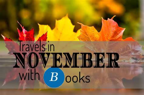 Travels in November with books