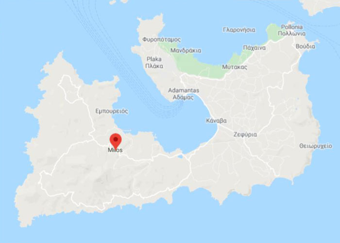 The island of Milos