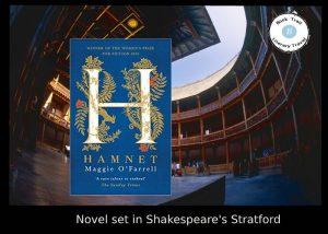 novel set in Shakespeare's stratford