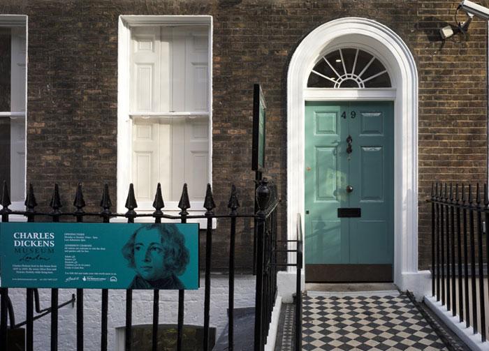 Charles Dickens House, London (c) Wikipedia
