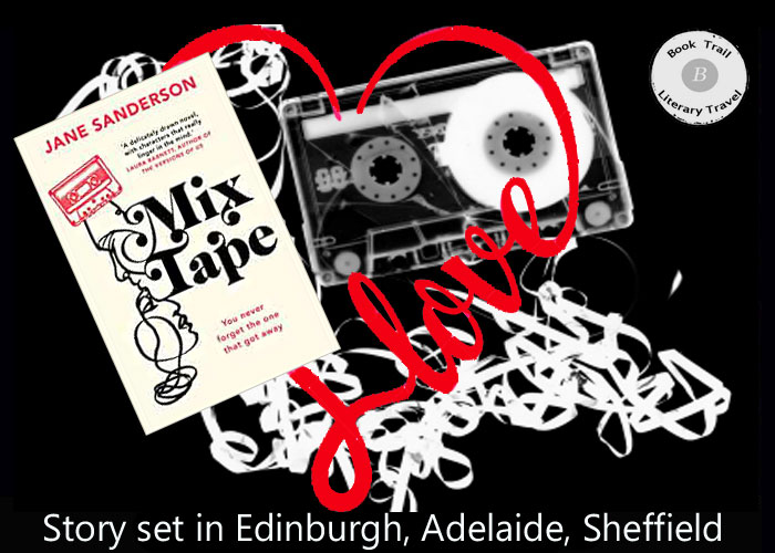 Travel across the world with a Mix Tape and Jane Sanderson