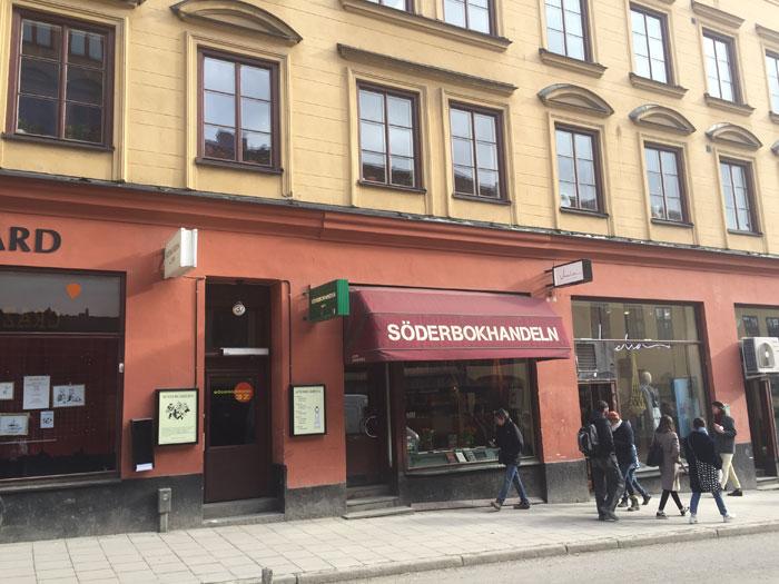 Booktrailing Bookshops in Stockholm