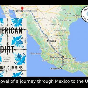 American Dirt set across Mexico by Jeanine Cummins