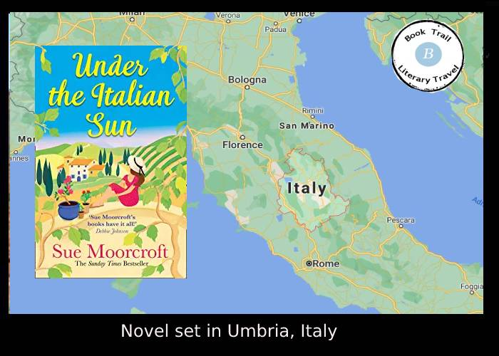 Under the Italian Sun set in Umbria by Sue Moorcroft