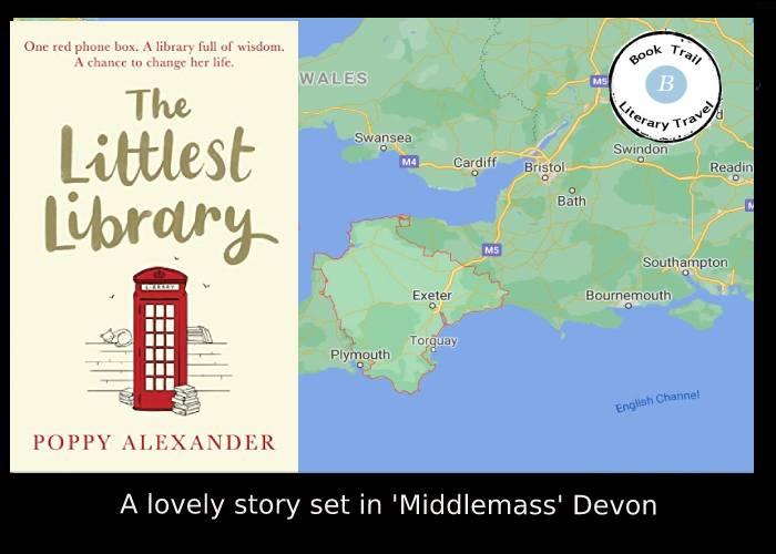 The Littlest Library set in Devon