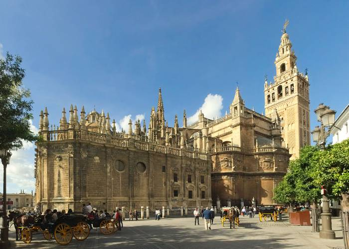 Travel to Seville with Rosanna Ley