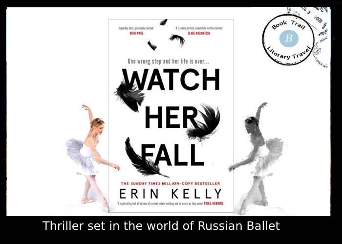 Thriller set in the world of ballet by Erin Kelly