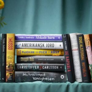 Literary Locations of Sweden's Book of the Year