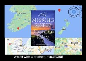 The Missing Sister takes readers from NZ to Ireland