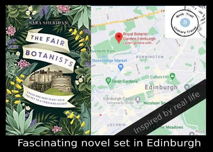 The Fair Botanists set in Edinburgh by Sara Sheridan