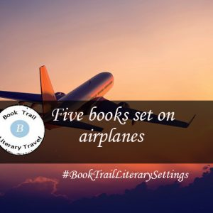 Five books set on a plane….
