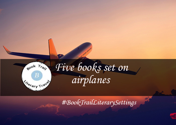 Five books set on a plane....