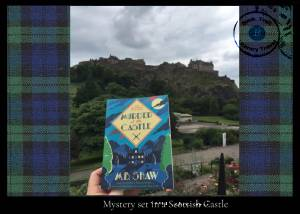 Mystery set in a Scottish Castle M B Shaw