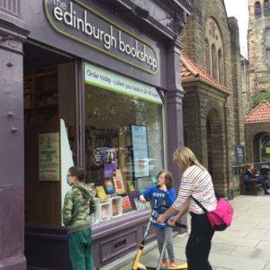 The Great British BookTrail – The Edinburgh Bookshop