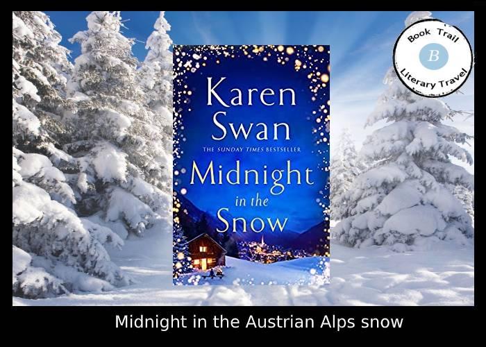Midnight in the Austrian Alps snow - Karen Swan