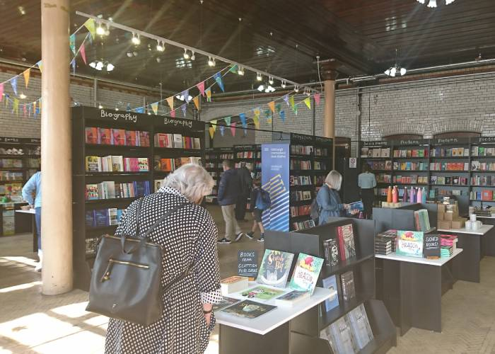 Edinburgh Book Fair has a new home 2021